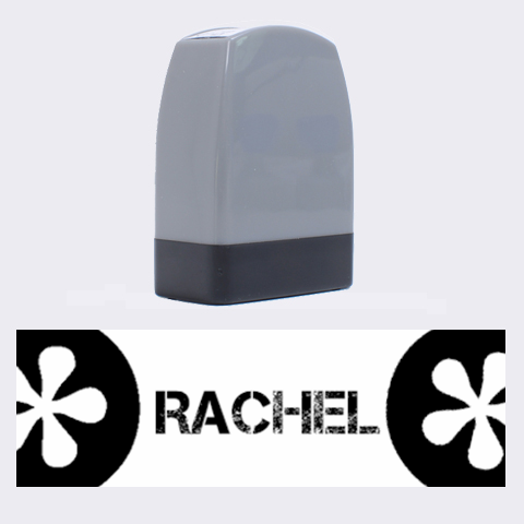 Rachel   Rubber Stamp By Carmensita   Name Stamp   Gr65hzaeqemh   Www Artscow Com 1.4 x0.5  Stamp