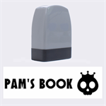 Pam s book - Rubber stamp - Name Stamp