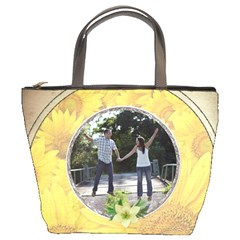 Daisy Friends Bucket Bag By Lil    Bucket Bag   Qb21do2v8s9b   Www Artscow Com Front