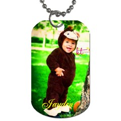Dog Tag  By Krystal M    Dog Tag (two Sides)   Yhtjfawjkpdp   Www Artscow Com Front