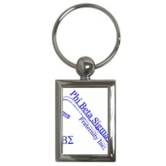 sigma 4_canes_peppermint_sin Key Chain (Rectangle) from ArtsNow.com Front