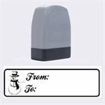 From-To 3 - Rubber stamp - Name Stamp