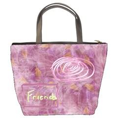 Iris Shoulder Bag3 By Joan T   Bucket Bag   97tsr8j7dh9z   Www Artscow Com Back