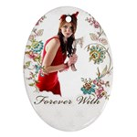 love forever - Ornament (Oval)