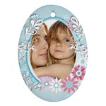 flower kids - Ornament (Oval)
