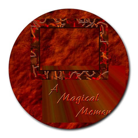 A Magical Moment 17 Round Mousepad By Ellan   Round Mousepad   Gr0rq8hmg5ui   Www Artscow Com Front