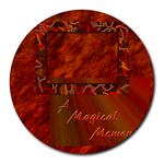 A Magical moment 17 round mousepad