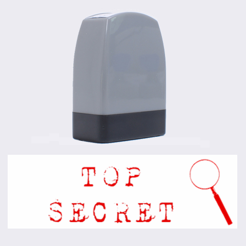 Top Secret By Jorge   Name Stamp   Z5wxtqora94p   Www Artscow Com 1.4 x0.5  Stamp
