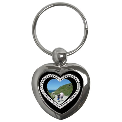 Lace Heart Keychain By Catvinnat   Key Chain (heart)   Jnze949p5t6v   Www Artscow Com Front
