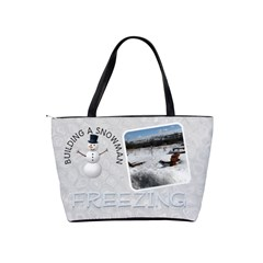 Winter Fun Shoulder Handbag By Lil    Classic Shoulder Handbag   1mb7ceyj8oqc   Www Artscow Com Back