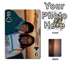 Destin 2007 Final To Order By Pat    Playing Cards 54 Designs   0fpxemntvso6   Www Artscow Com Front - Club9