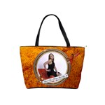 Spread Your Wings Shoulder Handbag - Classic Shoulder Handbag