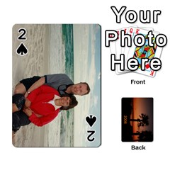 Destin 2008 Deck To Order By Pat    Playing Cards 54 Designs   Moyj1055yghy   Www Artscow Com Front - Spade2