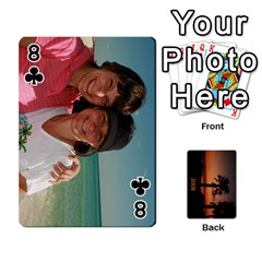 Destin 2008 Deck To Order By Pat    Playing Cards 54 Designs   Moyj1055yghy   Www Artscow Com Front - Club8