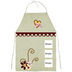 green heart apron - Full Print Apron