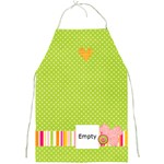 Bright fun, green apron - Full Print Apron