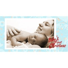 Baby s First Christmas Boy Photocube By Catvinnat   Magic Photo Cube   5m4ddmnczn73   Www Artscow Com Long Side 1