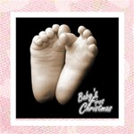 Baby s first christmas  girl photocube - Magic Photo Cube