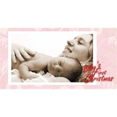 Baby s First Christmas  Girl Photocube By Catvinnat   Magic Photo Cube   3jz35qhuajmh   Www Artscow Com Long Side 1