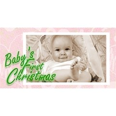 Baby s First Christmas  Girl Photocube By Catvinnat   Magic Photo Cube   3jz35qhuajmh   Www Artscow Com Long Side 2