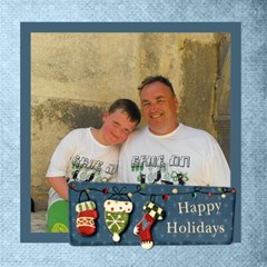 Happy Holidays Christmas Photocube By Catvinnat   Magic Photo Cube   O7u9lgcqw7a0   Www Artscow Com Side 1