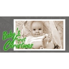Baby s First Christmas Monochrome Photocube By Catvinnat   Magic Photo Cube   Zkbzu08bwlmq   Www Artscow Com Long Side 2