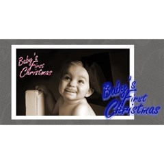 Baby s First Christmas Monochrome Photocube By Catvinnat   Magic Photo Cube   Zkbzu08bwlmq   Www Artscow Com Long Side 3