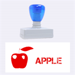 apple - Rubber Stamp (Large)