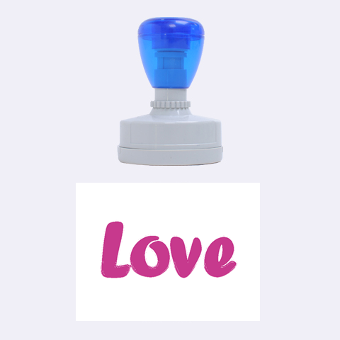 Love By Wood Johnson   Rubber Stamp Oval   87st3bbpxdm8   Www Artscow Com 1.88 x1.37  Stamp