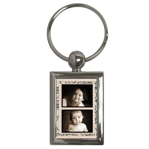 Fantasia Classic Twin Frame Keyring By Catvinnat   Key Chain (rectangle)   Oyd564uqhx55   Www Artscow Com Front