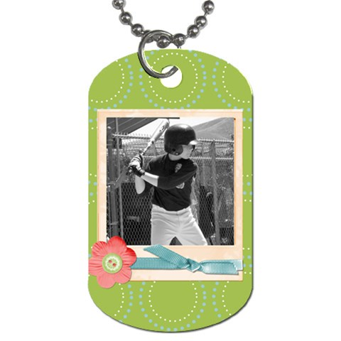 Dog Tag 8 By Martha Meier   Dog Tag (one Side)   X3tuwrb252nq   Www Artscow Com Front