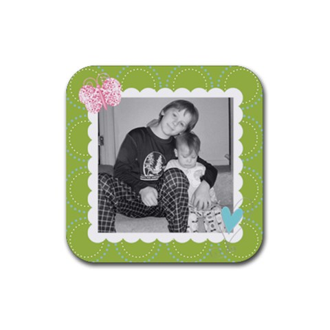 Square Coaster 5 By Martha Meier   Rubber Coaster (square)   Zjkgpvlxt4qz   Www Artscow Com Front