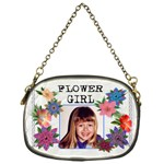 Flower Girl Chain Purse - Chain Purse (One Side)