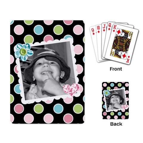 Playing Cards 1 By Martha Meier   Playing Cards Single Design   C878vaoigi3x   Www Artscow Com Back