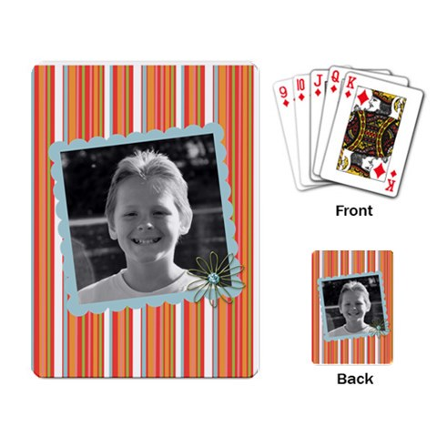 Playing Cards 5 By Martha Meier   Playing Cards Single Design   Za63wweo0kd5   Www Artscow Com Back