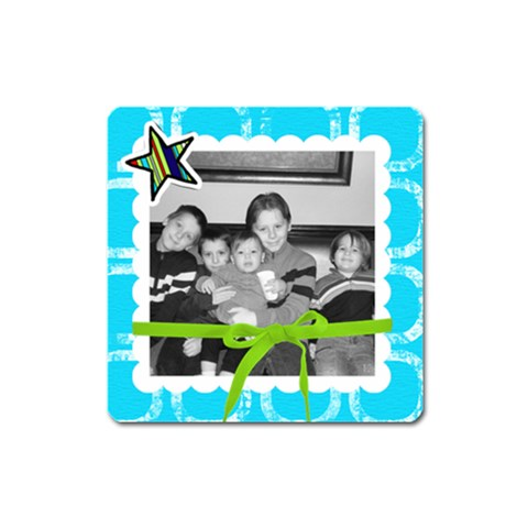 Square Magnet 8 By Martha Meier   Magnet (square)   Bd2s85wqrr75   Www Artscow Com Front
