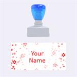 Flower  - Rubber Stamp (Medium)