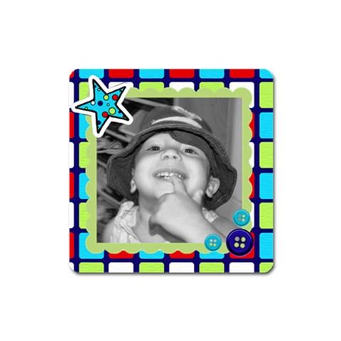 Square Magnet 9 By Martha Meier   Magnet (square)   Psaj28s38lut   Www Artscow Com Front