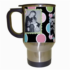 Travel Mug By Martha Meier   Travel Mug (white)   Lui2kytrdpka   Www Artscow Com Left
