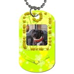 Lime Juice Dog Tag - Dog Tag (One Side)