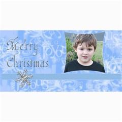 Blue Christmas Photo Card3 By Joan T   4  X 8  Photo Cards   Mkg7zj4wkw63   Www Artscow Com 8 x4 Photo Card - 4