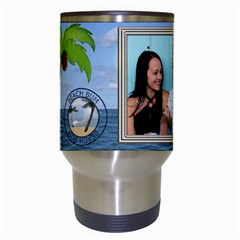 Tropical Vacation Travel Mug By Lil    Travel Mug (white)   Zcuvx3i6i71l   Www Artscow Com Center