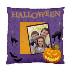 Halloween  By Joely   Standard Cushion Case (two Sides)   Y8fqowel5xjk   Www Artscow Com Front