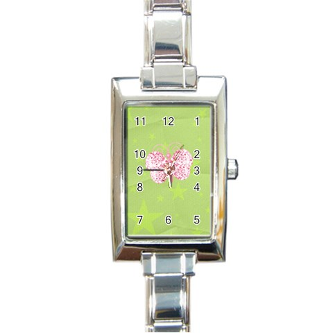 Watch 8 By Martha Meier   Rectangle Italian Charm Watch   Y9timgrgi39a   Www Artscow Com Front