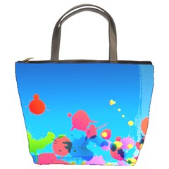 Colorful Bag By Jorge   Bucket Bag   Dhse3l9qf67o   Www Artscow Com Front