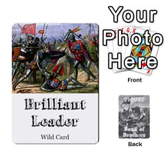 Band Of Brothers Cards1 By Dave   Playing Cards 54 Designs   Atitj7dyjwnq   Www Artscow Com Front - Spade9