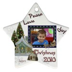 james xmas - Ornament (Star)