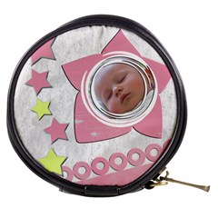 Pretty Baby Girl   Mini Make Up Bag By Carmensita   Mini Makeup Bag   Ebuki6pgfetc   Www Artscow Com Front