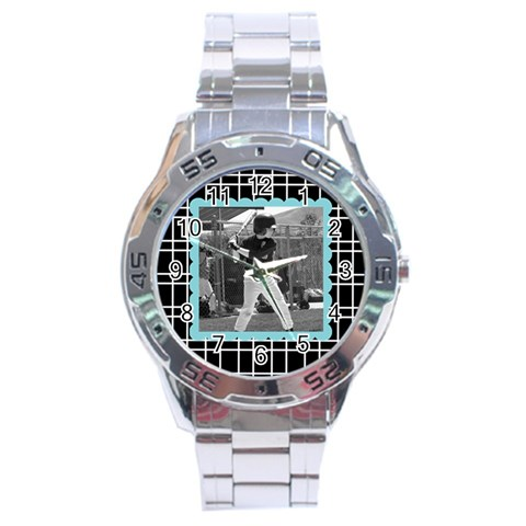 Men s Watch 1 By Martha Meier   Stainless Steel Analogue Watch   Bkc2y0e2lxbo   Www Artscow Com Front