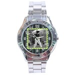Men s watch 3 - Stainless Steel Analogue Watch